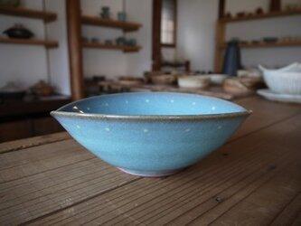 青磁たわみ鉢の画像