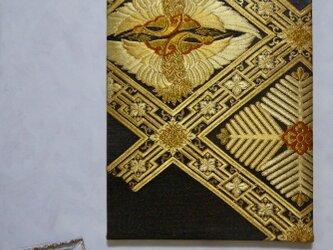 帯deco 向かい鶴の画像