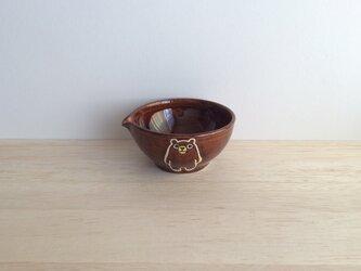 片口小鉢(アメ)の画像