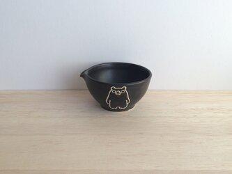 片口小鉢(クロ)の画像