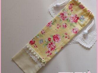 鍵盤ハーモニカホース用の巾着の画像