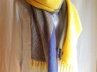 手織りストール ~wool~ #1の画像