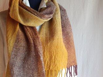 手織りストール ~wool~ #2の画像