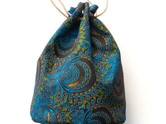 Shweshweファブリック バスケットバッグ African paisleyの画像