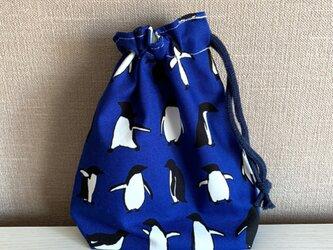 男の子♡ペンギンさんのコップ袋の画像