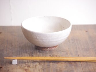 粉引 プレーン 飯碗(大)の画像