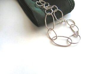 Silver Chain ・ブレスレットの画像