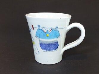 洗濯柄シリーズ マグカップの画像