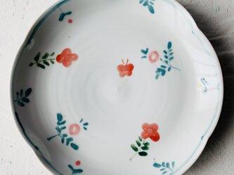 春色 6.5寸輪花皿の画像
