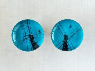 カフスL18/青空の電柱の画像