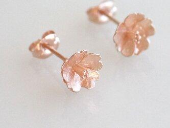 さくらのピアス【 Pink Gold 】の画像