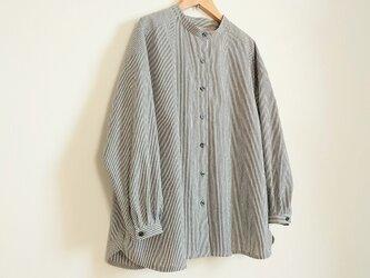 オーバーシャツ ストライプ M~Lサイズの画像