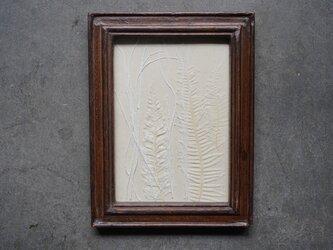 額縁 シダ アンティーク風の画像