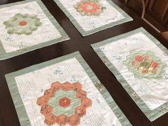 ヘキサゴンのランチョンマット(4枚セット)の画像