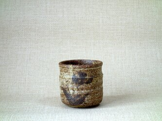 四方湯呑(すみれ2)の画像