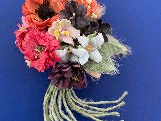 布花 Corsage petit bouquet Eの画像