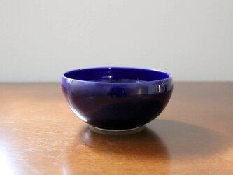 【SALE】ルリ硝子釉のボウル * medium sizeの画像