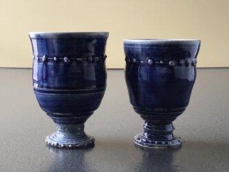 ZAO BLUE ペアワインカップ   一個 3500円ですの画像