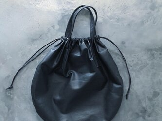 CIRCLE TOTE L-SIZE WATER PROOF GOAT LEATHERの画像