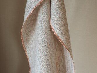 【手織り】カシミヤ×シルクリネンのストールの画像