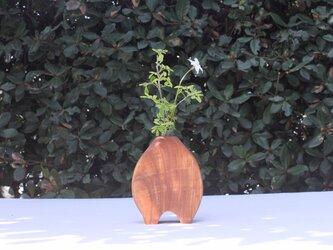 木の花瓶【広葉樹】の画像