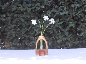 木の花瓶【ニレ】の画像