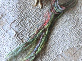 アートヤーンネックレス・メローの画像