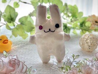和風☆白い桜柄のちびフニータの画像
