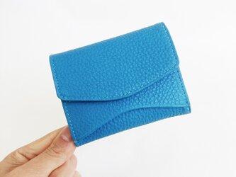 """[小さな柔らか財布] """"Jack""""マイクロウォレット < ロイヤルブルー> 名入れ・ギフト包装無料の画像"""
