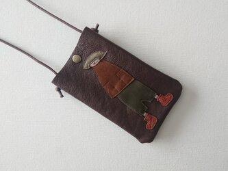 annco mobile case (brown)の画像
