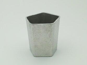 錫製 ぐい呑(五角)の画像