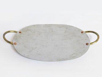 ズボラしてもフォトジェニックに♪ 鉄製フライパン皿(オーバル)の画像