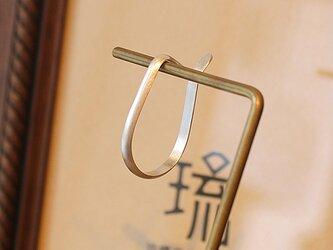イヤーカフ甲丸吊下式艶消片耳 rpc-138の画像