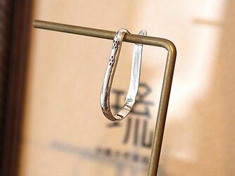 イヤーカフ甲丸ミンサー吊下式鏡面片耳 rpc-139の画像
