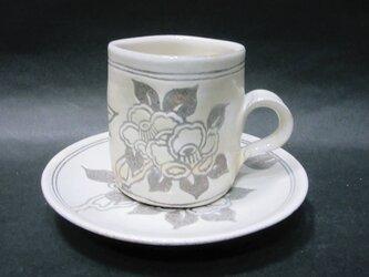 コーヒーカップ(つばき)の画像
