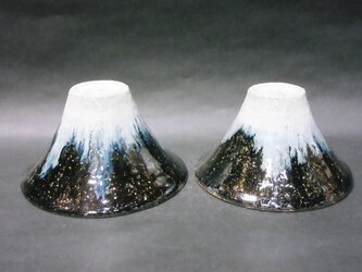 朝鮮唐津夫婦飯碗(逆さ富士)の画像