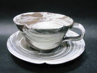 コーヒーカップ(刷毛目)の画像