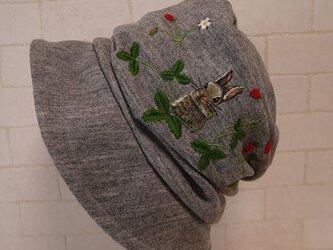 蘭子ちゃん様ご注文品圧縮ウールニット生地で作ったクロッシェの画像