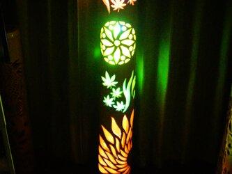 竹灯り 彩シリーズ 〜めぐる季節〜 竹灯籠 孟宗竹の画像