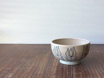 小茶碗 釉彩チューリップの画像