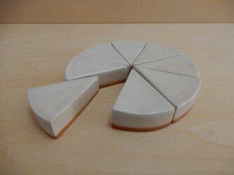 No. 60 レアチーズケーキ(メモ押さえ)の画像