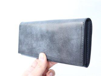 ロングウォレット ≪ BC-2 ≫ long wallet [期間限定ワックスレザー] 【送料無料】上品な国産本牛革使用の画像