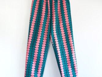 アフリカンワックスプリント パジャマパンツ Pinkiの画像