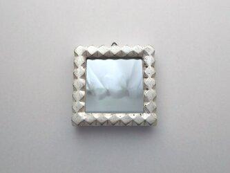 手作りミラーフレームの画像