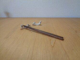 箸置きセット クマ 腹筋・背筋の画像