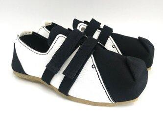 【bargain sale‼】Mサイズ(23〜24cm) SQUARE velcro-shoes #倉敷帆布の画像