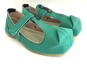 【bargain sale‼】Mサイズ(23〜24cm) SQUARE T-strap shoes #倉敷帆布の画像