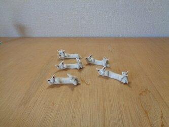 箸置きセット ウサギの画像