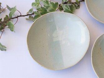 二色の皿 bの画像