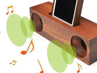 【電源不要】木製共振スピーカーの画像